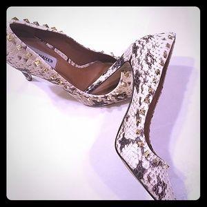 Steve Madden studded heels